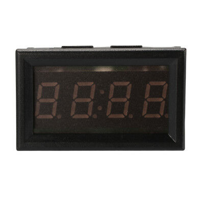 4-Digit 0.4inch LED Digital Electronic Clock for Car Motorcycle Scooter MA1224