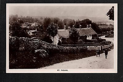 St. Fagans - real photographic postcard