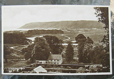 Postcard. Oxwich Bay, Gower, Wales. Unused. Sepia. e3