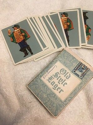 Heileman's Old Style Lager Beer Playing Cards Full Deck/Box Brewing La Crosse WI