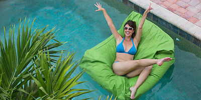 LARGE BEAN BAG LOUNGER FLOATING CHAIR!   Swimming pool beanbag lounge furniture