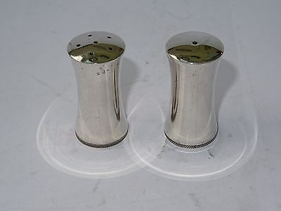 Vintage Viners Silver Plated Salt and Pepper Set