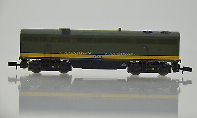 N Scale Train LIFELIKE 70009 CANADIAN NATIONAL CN C Liner Locomotive #8701 Green