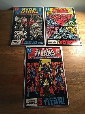 Tales Of The Teen Titans (#42, 43 & 44) First Appearance Of Nightwing DC Comics