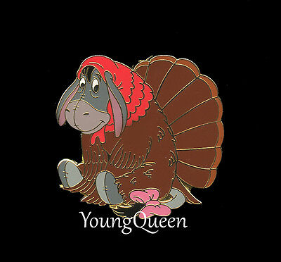 WDW Disney Winnie the Pooh's Turkey Eeyore Thanksgiving LE Pin