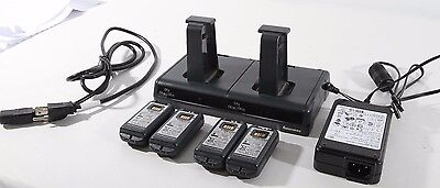 INTERMEC, 4 POSITION BATTERY CHARGER FOR CK70 & CK71 WITH Battery