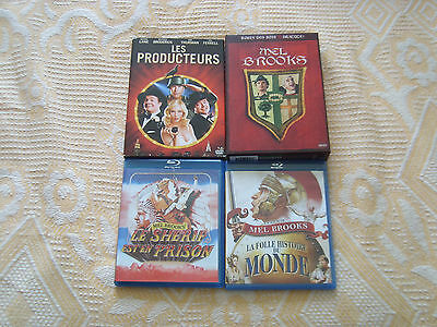 Dvd - Blu-Ray : Lot Mel Brooks 5 Films