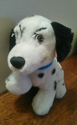 "Disneys 101 Dalmatians 8"" Tall Character Plush Puppy Soft Toy"