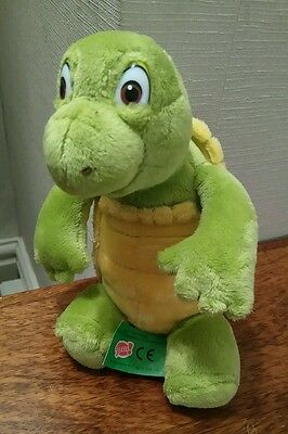 "Gosh Dreamworks Over The Hedge Verne The Turtle 7"" Beanie Character Soft Toy"