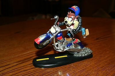 Taz Loony Tunes Bikers Collection Figurine Harley Very Rare Limited Edition