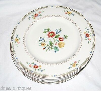 """Royal Doulton KINGSWOOD China - Made in England - 10 dinner plates 10 5/8"""" diam"""
