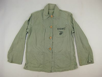 WWII USMC Marine Corps Women's Reserve Cotton Twill Utility Shirt P41 P1941