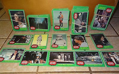 226    1977 Star Wars Trading Cards By 20Th Century Fox