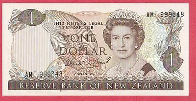 1989/92 New Zealand 1 Dollar Note Unc