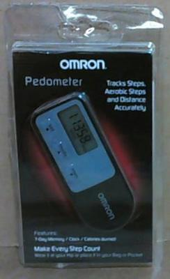 NEW OPEN PACKAGE Omron HJ-321 TRI-AXIS Pedometer Black $80