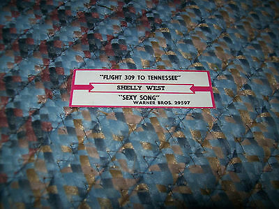 POLLY BROWN Up In A Puff Of Smoke JUKEBOX TITLE STRIP GTO 1002