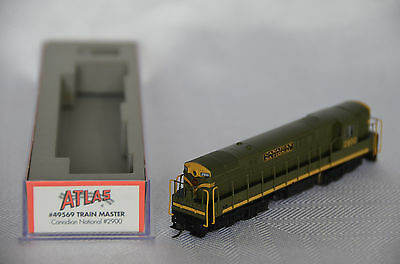 N scale 49569 ATLAS FM24-66 Train Master Canadian National CN #2900 Factory DCC