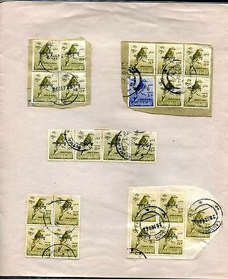 HERRICKSTAMP Burma Sc.# O97-98 Birds Official Collection