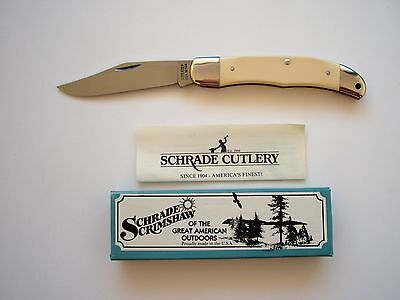 Original Schrade Usa Made 524Sc Tradesman Folding  Knife