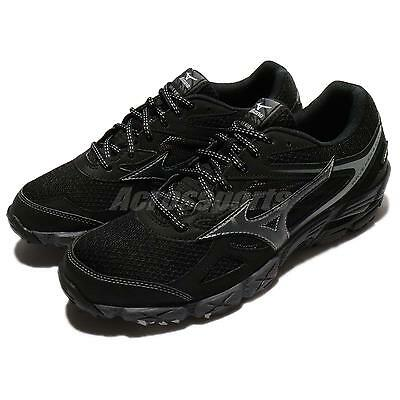 Mizuno Wave Kien 4 G-TX Gore Tex Black Grey Men Running Shoe Trainer  J1GJ1759 2d09d6546e3