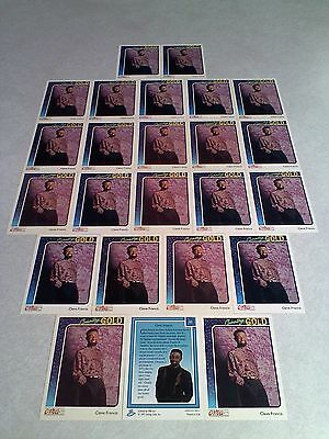 *****Cleve Francis*****  Lot of 24 cards