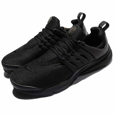 Nike Air Presto Essential Triple Black Men Running Shoes Sneakers NSW 848187-011