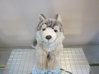 Webkinz Signature Timber Wolf Plush Only No Code +Free Canada Gift! See Pictures