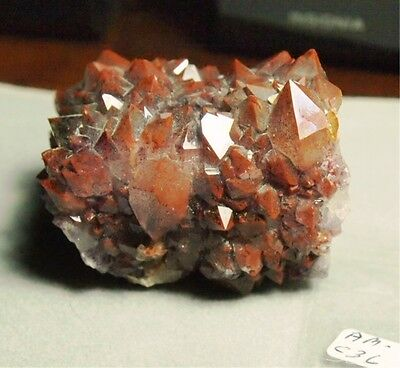Red Tipped Amethyst/Hematite crystal,65x44x38mm,588.25ct,4.15oz,earth grown