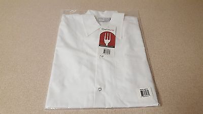 Chef Works Shyk White Utility Shirt Size Small Brand New In Package With Tags