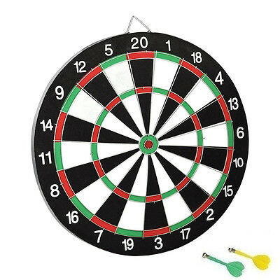 Magnetic Dart Board Dartboard 2 Darts Party Game Toy Playset Kids Childrens