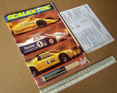 1988 Vintage Scalextric Slot Car Catalogue with Price List. 29th Ed. Very Fine