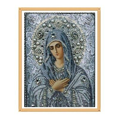 DIY 5D Religion Diamond Embroidery Painting Cross Stitch Craft Home Decor