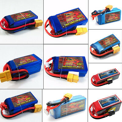 Giant Power 11.1V-18.5V 500-1800mAh 3S-5S 65C-75C Lipo Battery For RC Airplane