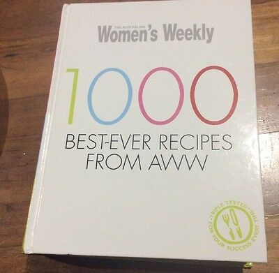 1000 Best-ever Recipes from AWW by Australian Women's Weekly Like New Cook Book