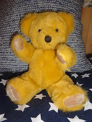 "VINTAGE DEAN'S TEDDY BEAR 12"" long Dean's rag book GREAT BRITAIN"