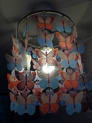 Butterfly lampshade - hanging