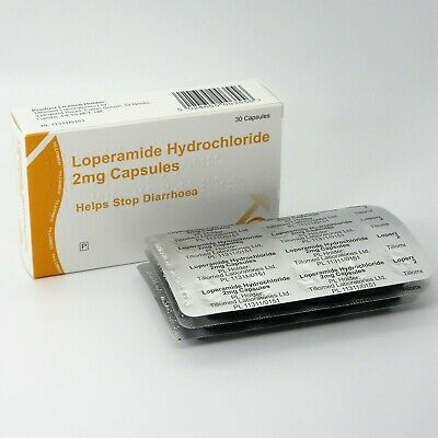 60 Diarrhoea Relief 2mg Capsules Loperamide Hydrochloride Tablets (10x6)
