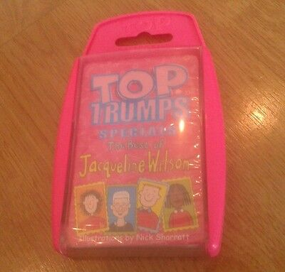 Top Trumps Rare Sealed Inside New Nib Specials The Best Of Jacqueline Wilson Set
