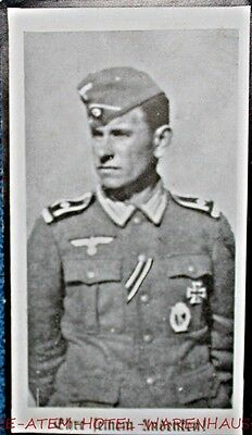 1941 German Death Card Infantry, IAB, EK-1 Photo  FREE UN-INSURED SHIPPING