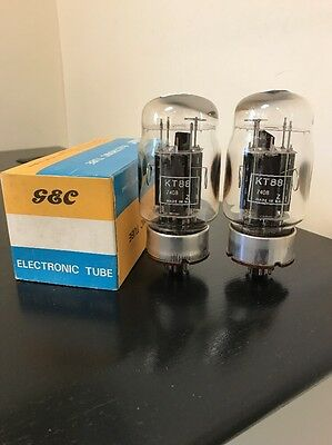 Kt88 Gec Matched Pair Boxed Valve/tube (Lc51)
