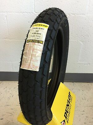 "Dunlop 18"" K180 Motorcycle Tire - Size 130/18-18 - Brand New"