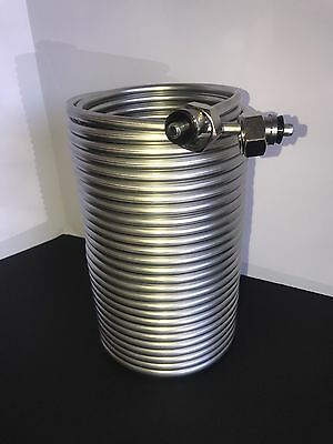 Jockey Box Stainless Steel Coils 70 Feet XL Long Max Cooling w/fittings