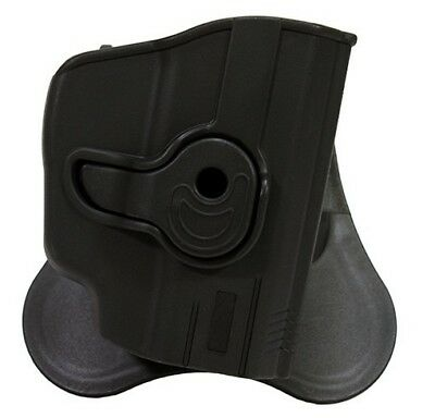 Bulldog Cases RR-LC9Z Black RH Rapid Release Holster Fits Ruger LC9 w/Laser