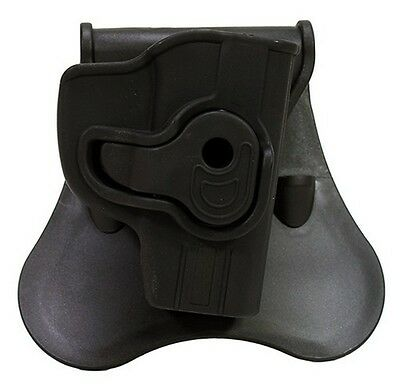 Bulldog Cases RR-LCP Black RH Rapid Release Holster Fits Ruger LCP
