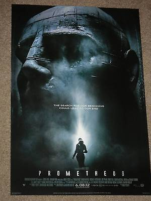 Prometheus 13.5x20 Promo Movie POSTER