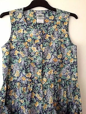 Vintage Laura Ashley FLORAL JUMPSUIT. Size Small. Approx 8/10.PERFECT Condition.