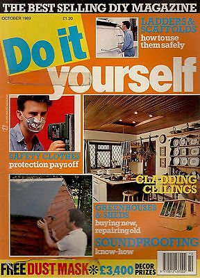 1989 OCTOBER 24519   Do It Yourself Magazine  SOUNDPROOFING
