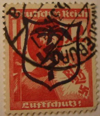 GERMANY WW2   3rd  REICH  AFRICA  OVERPRINT STAMP.--