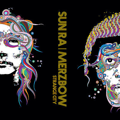 SUN RA | MERZBOW Strange City LP GREEN LTD 300 Japanese noise/jazz 2017