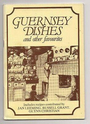 Guernsey Dishes, 57 Page Cookery/recipe Book